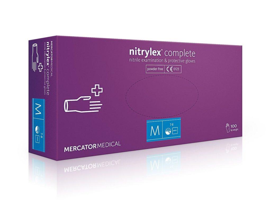 Nitrylex Complete — нитриловые неопудренные перчатки